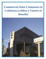 Commercial Solar Companies in California