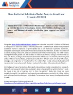 Bone Grafts And Substitutes Market Analysis, Growth and Dynamics Till 2024