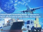Air Freight Market Poland, Corporate Freight Market - Ken Research