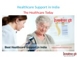 Healthcare Support in India