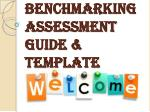 Benchmarking Assessment Guide & Template