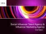 Social Influencer Marketing Agency with Viral Nation