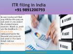 Missed the March 31 deadline to ITR filing in India 09891200793? Here's what you can do