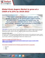 Global Grain Augers Market to grow at a CAGR of 6.23% by 2018-2022