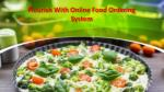 Flourish With Online Food Ordering System