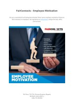 Fairconnects - Employee Motivation
