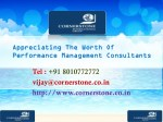 Appreciating The Worth Of Performance Management Consultants