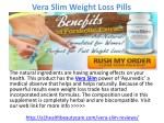 Vera Slim Weight Loss Pills