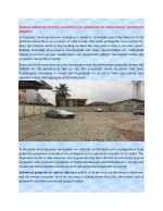 Finding industrial property available to be purchased for extraordinary investment bargains
