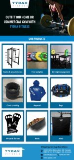 Outfit You Home or Commercial Gym With Tydax Fitness