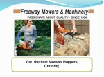 Get Best Mowers Hoppers Crossing