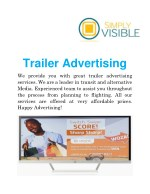 Trailer Advertising