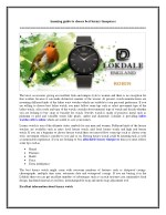 Amazing guide to choose best luxury timepieces