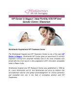 IVF Center in Nagpur | Ideal Fertility ICSI IVF And Genetic Centre | Elawoman
