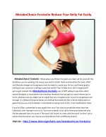 MetaboChoice Forskolin Lose Weight Naturally And Quickly!