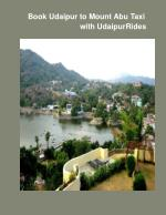 Book Udaipur to Mount Abu Taxi With Udaipur Rides