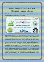 Nilaya Greens—Sustainable And Affordable Housing Scheme