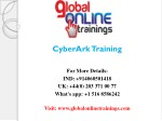 CyberArk Training  CyberArk Online Training - Global Online Trainings