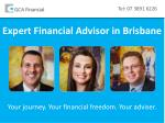 Expert Financial Advisor in Brisbane