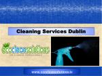 House Cleaners Dublin