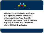 Offshore Crane Market Global Forecast To 2020- End-User and Regional Analysis