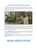 Ace divino Greater Noida West
