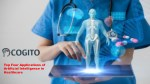 Top 4 Applications of Artificial Intelligence in Healthcare