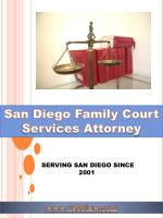San Diego Family Court Services Attorney
