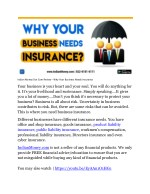 Indian Money Dot Com Review - Why Your Business Needs Insurance