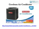 Goodman Air Conditioners - TheFurnaceOutlet