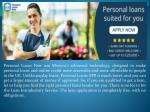 Personal Loans Online, Get Decision Now