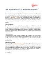 The Top 5 Features of an HRMS Software