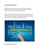 Entrepreneurs Business Thoughts