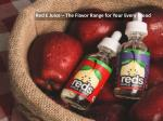 A Detailed Discussion on Reds Apple E-juice