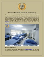 Reap More Benefits by Booking the Best Dormitory