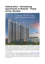 Godrej Alive - New Residential Property in Mulund West, Thane