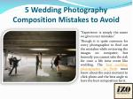 5 Wedding Photography Composition Mistakes to Avoid