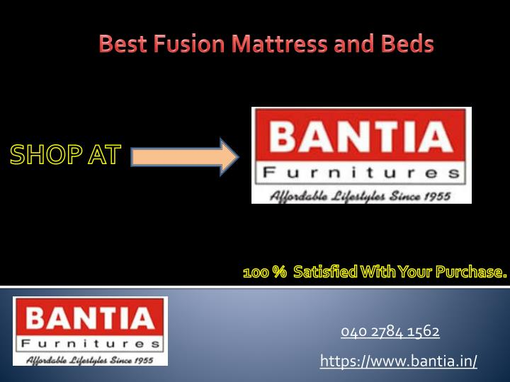 best fusion mattress and beds n.