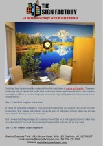 Go Beyond Average with Wall Graphics