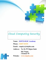 Cloud Computing Security - Cloud Security Controls