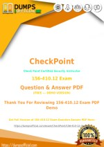 How to Pass CheckPoint 156-410.12 Exam Easily