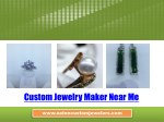 Custom Jewelry Maker Near Me