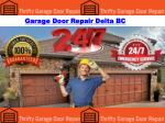 Garage Door Repair Delta BC