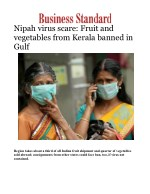 Deadly Nipah virus: Fruit and vegetables from Kerala banned in Gulf
