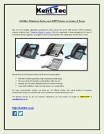 2018 Best Telephone System and VOIP Solution