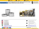 Metal packaging industry