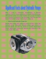 Significant Facts about Hydraulic Pumps