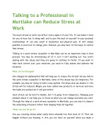 Talking to a Professional in Mortlake can Reduce Stress at Work