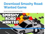Download Smashy Road: Wanted Game