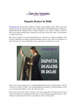 Dupatta Dealers In Delhi